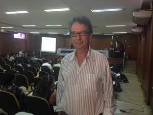 Christovam Barcellos, chefe do Observatório de Clima e Saúde na Fronteira (Foto: Fabiana Figueiredo/G1)