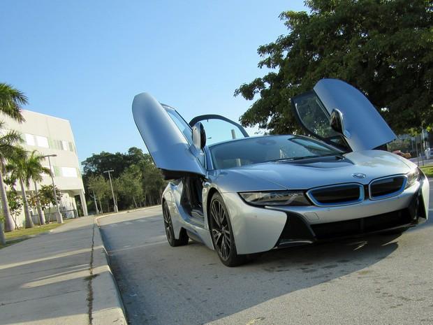 BMW i8 (Foto: André Paixão/G1)
