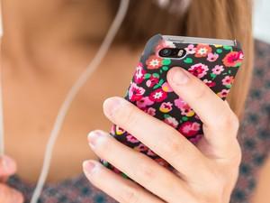 Capinha celular interatividade Bem Estar (Foto: AFP)