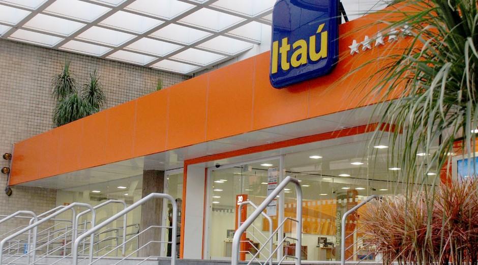 Agência do banco Itaú (Foto: Divulgação)