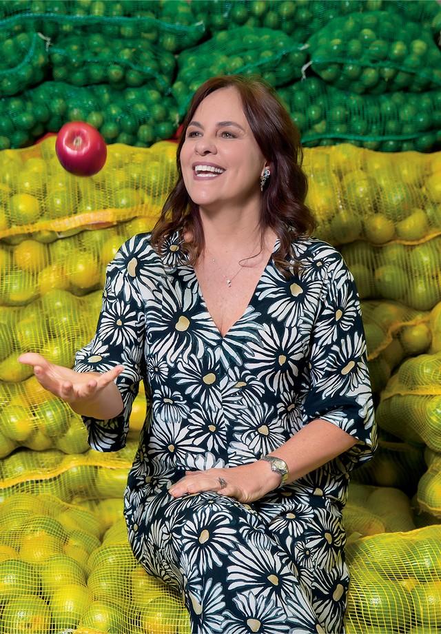 Luciana Quintão, da ONG Banco de Alimentos (Foto: Samuel Esteves, com styling de Alexandra Benenti)