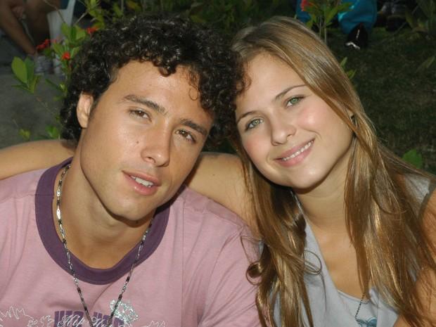 Bernardo Mello Barreto e Luiza Valdetaro - Malhao 2006 (Foto: Acervo Globo)