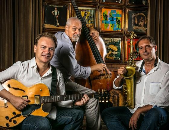 Dôdo Ferreira Jazz Trio se aparesenta no Baretto-Londra, o badalado bar do hotel Fasano, no Rio, nesta quinta-feira (Foto: Tomas Rangel )