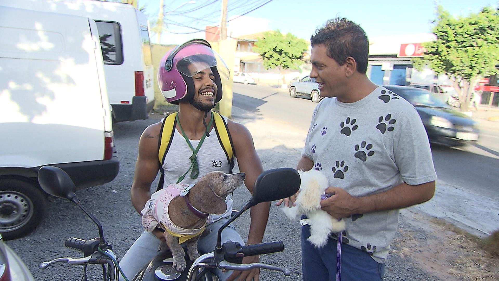 Maurício Oliveira conhece pessoas que vivem coladas aos seus animais de estimação (Foto: Divulgação)