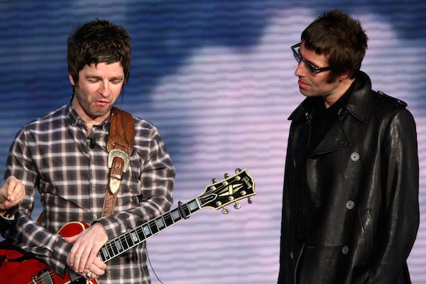 Os irmãos Noel Gallagher e Liam Gallagher do Oasis (Foto: Getty Images)