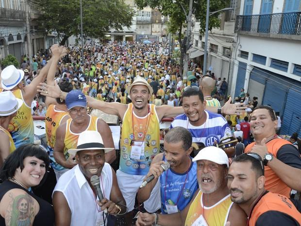 Liga de Blocos da Zona Portuária desfila neste fim de semana (Foto: Alexandre Macieira/ Riotur)