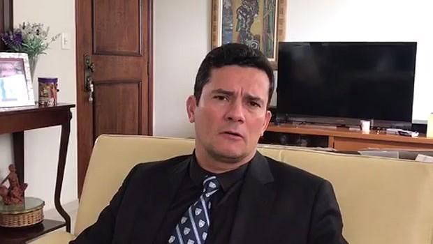 O juiz federal Sérgio Moro gravou mensagem de agradecimento pelo apoio à Lava Jato (Foto: Reprodução/Facebook)