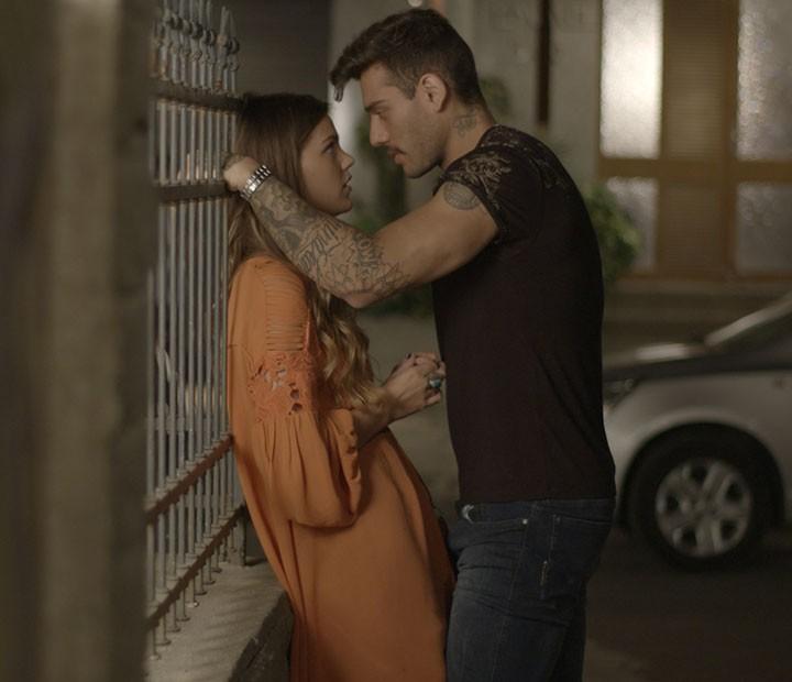 E beijos! (Foto: TV Globo)
