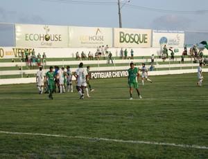 Estádio Luiz Rios Bacurau agora é o 'Ninho do Periquito' (Foto: Augusto Gomes)