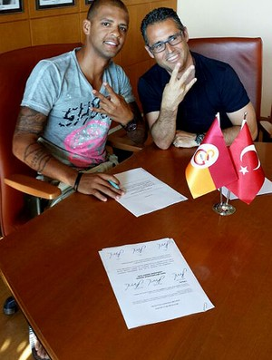 felipe melo galatasaray contrato (Foto: Divulgação)
