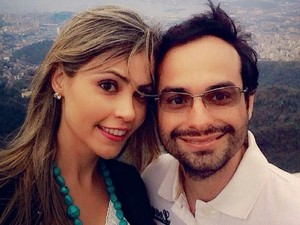 Namorados Maysa Paula dos Santos e João Henrique Baeta, mortos em queda de avião em Luziânia, Goiás (Foto: Arquivo Pessoal)