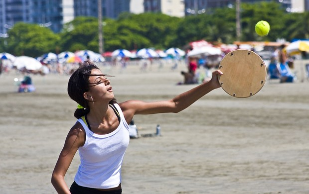 45º Torneio de Tamboréu de Praia, em Santos - feminino (Foto: Divulgação / E5 Comunicação)