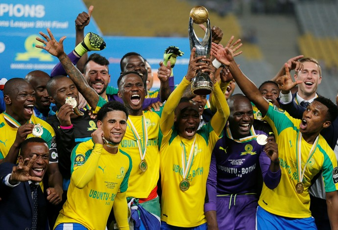 Mamelodi Sundowns campeão da Liga dos Campeões da África (Foto: Reuters)