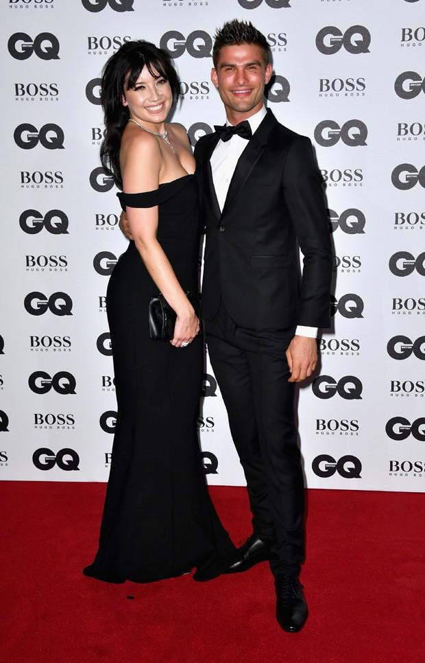 Daisy Lowe e Aljaz Skorjanec (Foto: Gareth Cattermole/Getty Images)