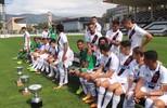 Making of da foto oficial do elenco Campeão Estadual Sub-20