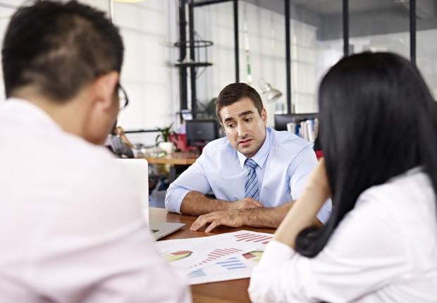trabalho, conversa no trabalho, reunião, reação negativa (Foto: Thinkstock)