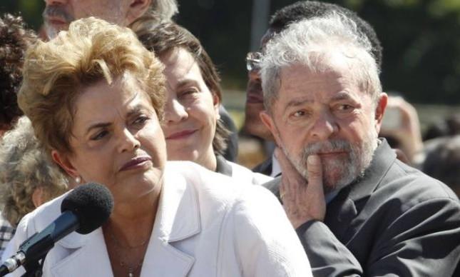 Dilma Rousseff e o ex-presidente Lula