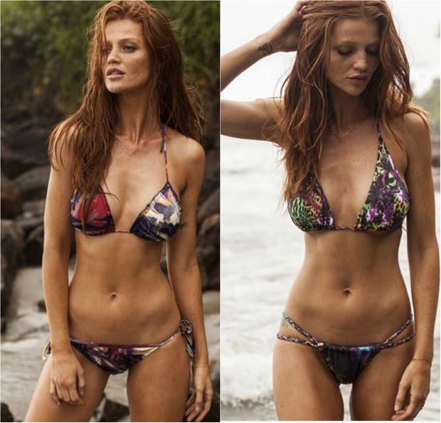 A modelo e atriz Cintia Dicker é dona da grife Dicker Swimwear  (Foto: Reprodução do Instagram)