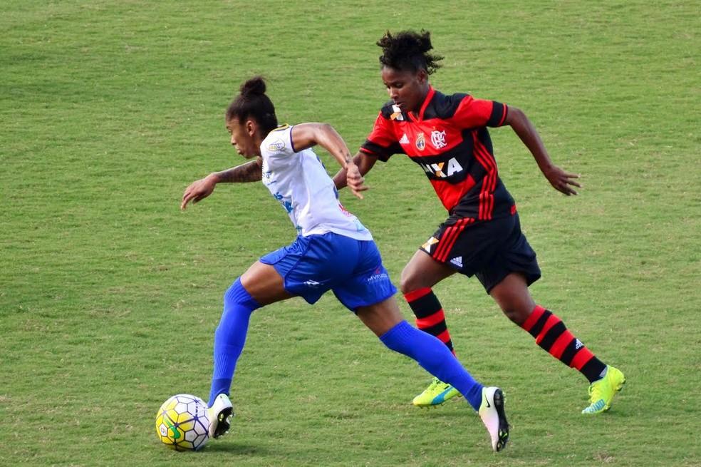 São José e Flamengo empataram nesta quarta-feira pelo Brasileiro Feminino (Foto: Danilo Sardinha/GloboEsporte.com)