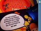 Convite de festa de Rafa Justus pede doação em vez de presente