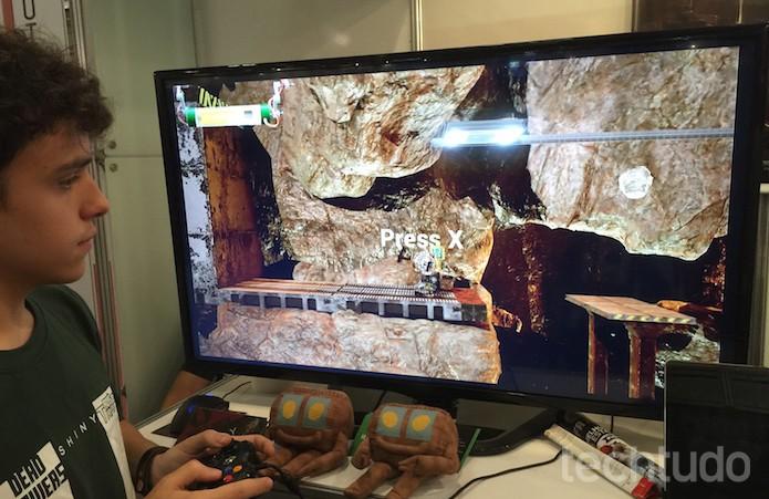 Programadores novatos podem criar jogos indies para o Xbox (Foto: Victor Teixeira / TechTudo)
