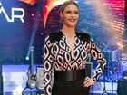 Olé! Fernanda Lima se inspira nas touradas espanholas para look chique