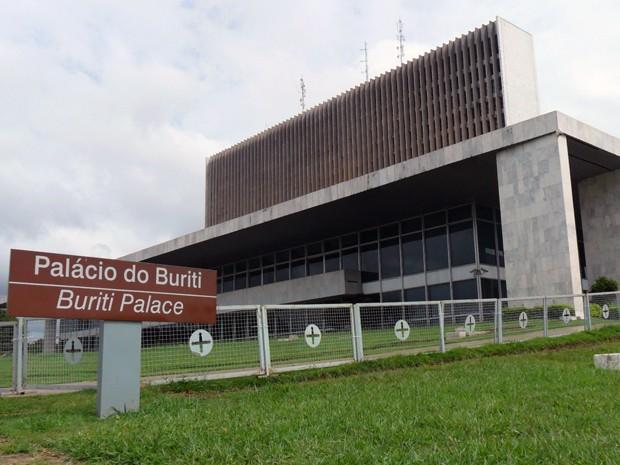 Palácio do Buriti, sede do governo do Distrito Federal (Foto: Raquel Morais/G1)