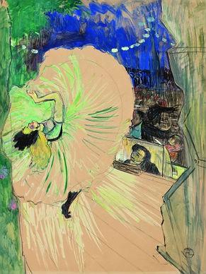 Obra do artista plástico Toulouse-Lautrec no acervo do MASP (Foto: Divulgação)