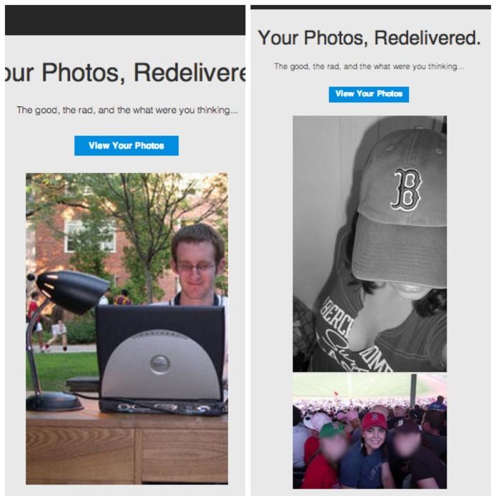 MySpace tenta reconquistar velhos usuários com fotos antigas  (Foto: Reprodução/Mashable)