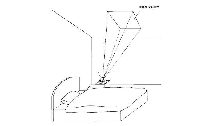 Dispositivo poderia projetar informações no teto (Foto: Reprodução/NeoGAF)