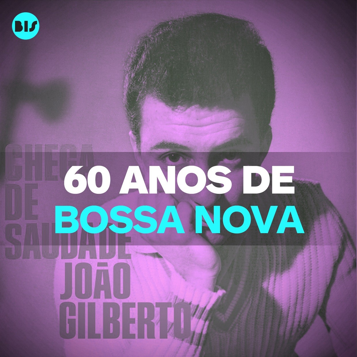 Playlist exclusiva do Bis no Spotify rene os maiores sucessos dos 60 anos da Bossa Nova (Foto: Bis)