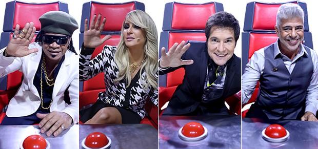 Técnicos (Foto: The Voice Brasil/TV Globo)