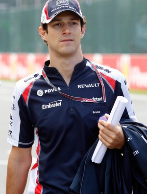 bruno senna Williams gp da bélgica Spa-Francorchamps (Foto: Agência Reuters)