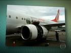 Avião da Gol muda local de pouso após peça se soltar em pleno voo