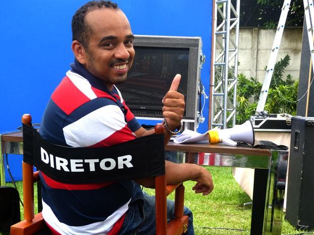 Cineasta na vida real, Luciano Vidigal agora é diretor também na ficção (Foto: Foto: Malhação / TV Globo)