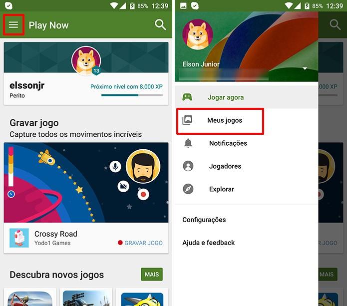 0b40695734b Android possui função que grava gameplay de jogos da Play Store (Foto   Reprodução