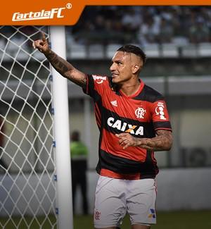 CARROSSEL - cartola Paolo Guerrero Flamengo (Foto: Editoria de Arte)
