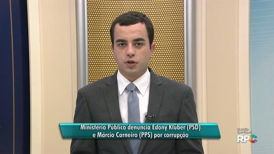 Gaeco denuncia vereador afastado e ex-vereador de Guarapuava por corrupção