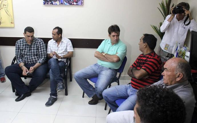 Reunião FFP para Campeonato Piauiense de Futebol 2015 (Foto: Josiel Martins )