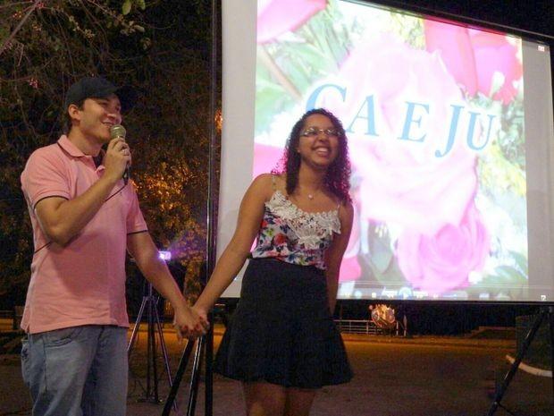 Nathália disse sim ao pedido de casamento de Juliano em Piracicaba (Foto: Juliano Amaral/Acervo pessoal)
