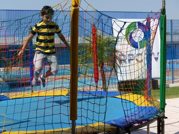 RPC TV proporcionou dia de muita diversão para as crianças (Foto: Divulgação/RPC TV)