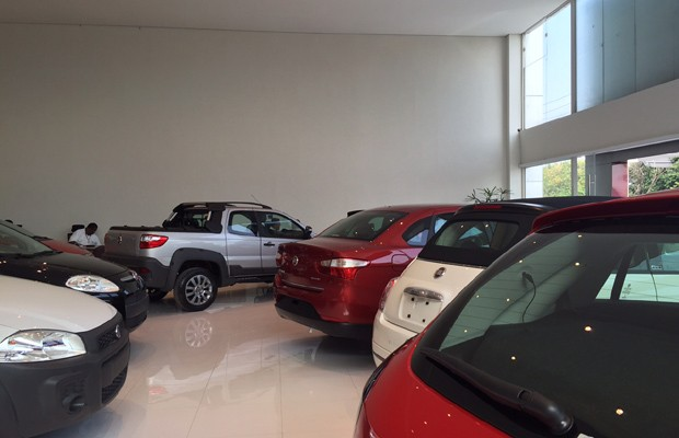 Concessionária Fiat na Zona Oeste de São Paulo (Foto: Autoesporte)
