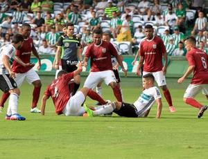 Briga pela bola, Coritiba x Jotinha