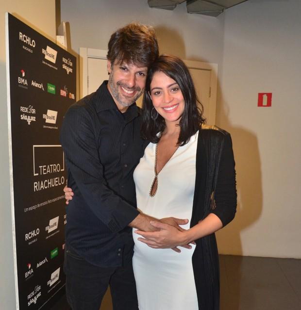 Carol Castro e Felipe Prazeres (Foto: Webert Belicio/AgNews)