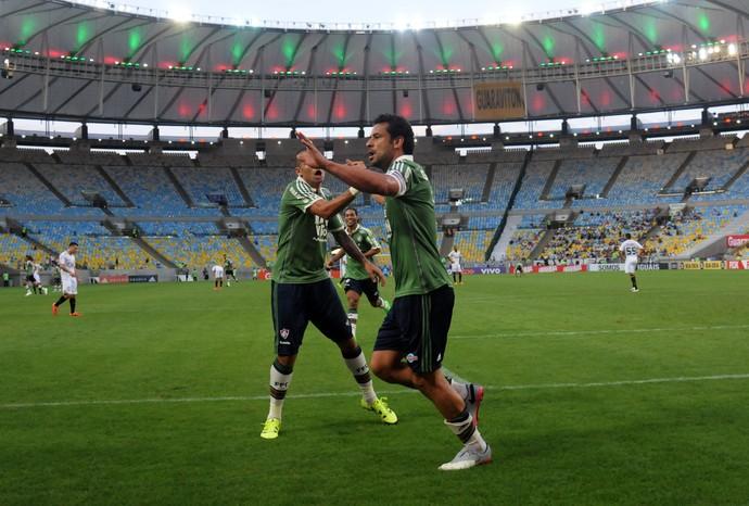 Fred Fluminense Figueirense (Foto: André Durão / GloboEsporte.com)