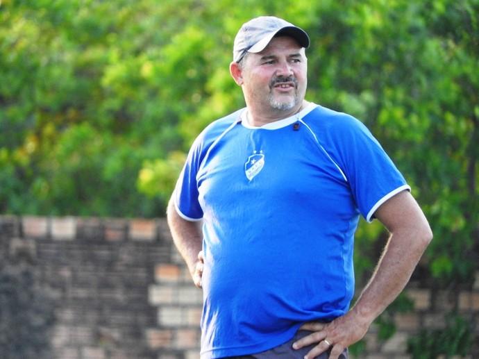 Beto Vieira, técnico do São Raimundo-RR Sub-20 (Foto: Nailson Wapichana)