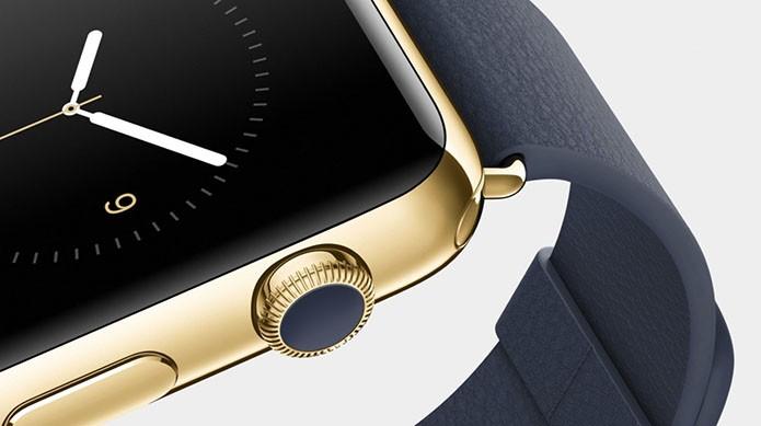 Apple Watch de ouro poderá ser vendido pelo equivalente a R$ 12 mil (Foto: Divulgação)