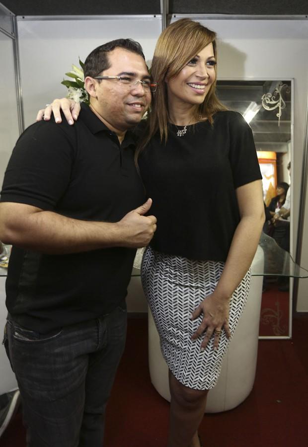 Xand Avião e Solange Almeida (Foto: Ricardo Cardoso/Ed Globo)