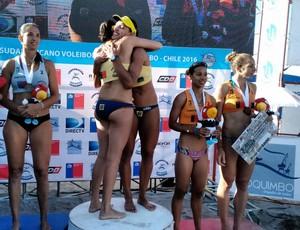 vôlei de praia Rachel e Ângela (Foto: Divulgação / CBV)