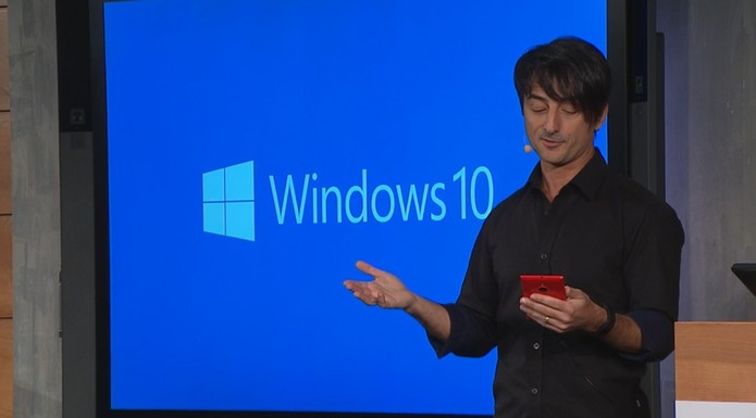 Windows 10, Joe Belfiore (Foto: Reprodução)